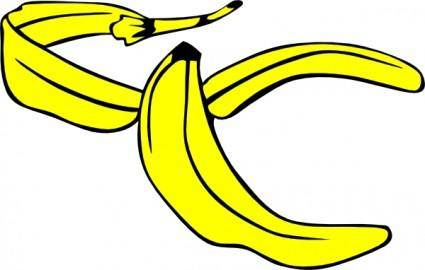Banana Peel clip art