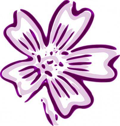 Flower Of Chicora clip art