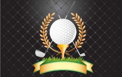 free vector GOLF, GOLF CLUBS, WHEAT VECTOR