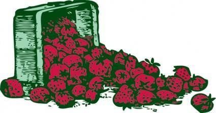 Strawberries clip art