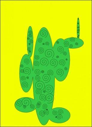 free vector Cactus Spirit clip art