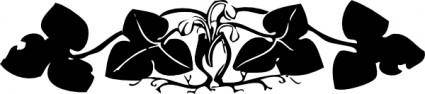 free vector Floral Border clip art