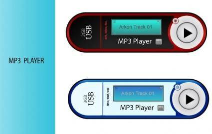 free vector Mp3 players.