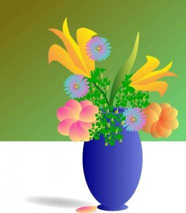 free vector Bouquet Of Flowers clip art