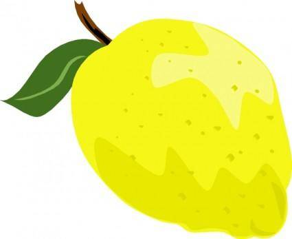 Whole Lemon clip art