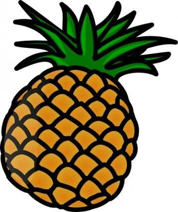 free vector Pineaple clip art