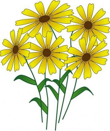 free vector Flowers clip art