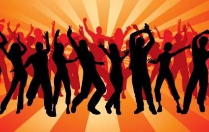 free vector DANCING