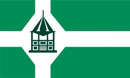 free vector Flag Of New Milford Connecticut clip art