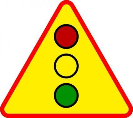 Traffic Light Sign clip art