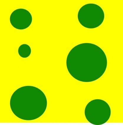 Yellow Green Holes clip art