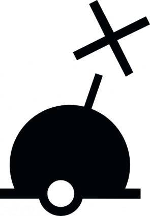 Spherical Buoy clip art