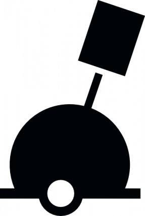Nchart Symbol Int Spherebuoy Green Cylindricaltm clip art