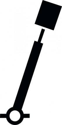 Nchart Symbol Int Spar Green Cylindricaltm clip art