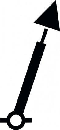 Nchart Symbol Int Spar Green Conicaltm clip art