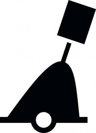 free vector International Conical Buoy Cylindrical clip art