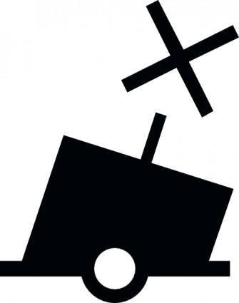 free vector Canbouy Symbol clip art