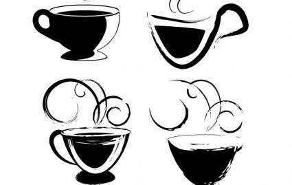 free vector Coffee cups for your usage