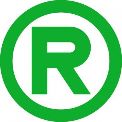 Green Trademark clip art