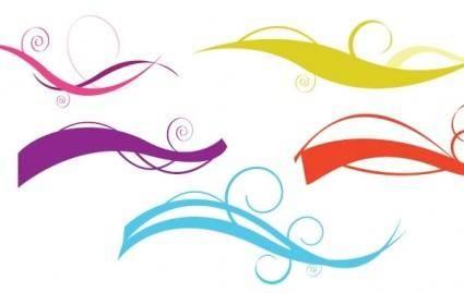 Swirl trick free vector