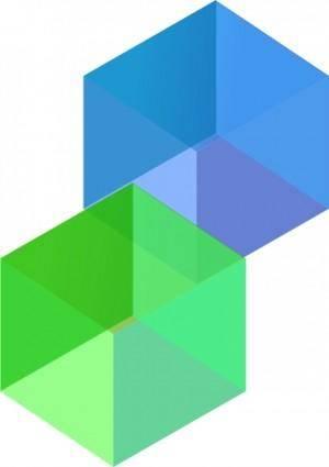 3d Cubes clip art