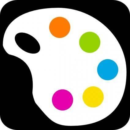 Color Palette clip art