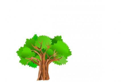 free vector Tree clip art