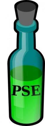 Bottle With Cork clip art