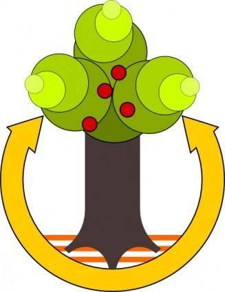 Green Save Environment clip art