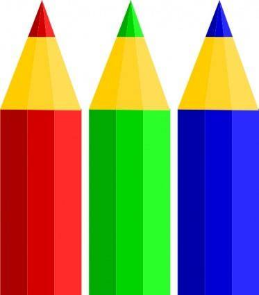 Color Pencils clip art