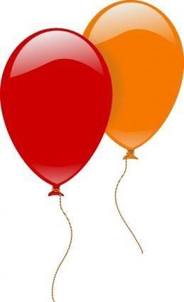Baloons clip art