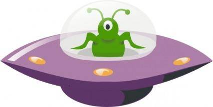 Ufo Cartoon clip art