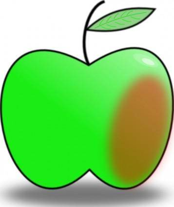 free vector Simple Apple clip art