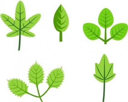 free vector Leaves Tree Vines Branches clip art