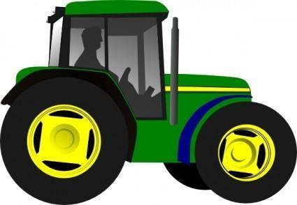 free vector Tractor Framing Machine Equipment clip art