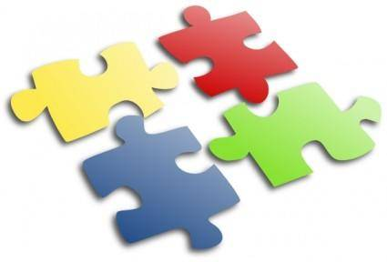 free vector Jigsaw Puzzle clip art