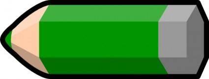 free vector Green Pencil clip art