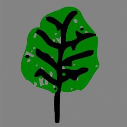 free vector Green Leaf clip art