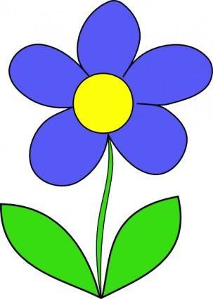 free vector Simple Flower clip art