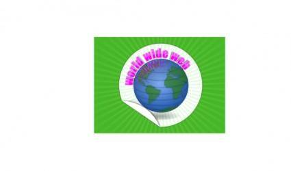 free vector World Wide Web In A Frame clip art