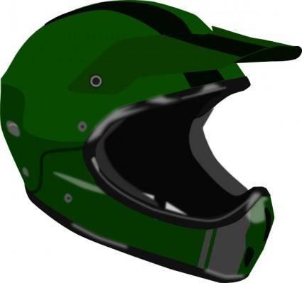 free vector Bike Or Motorcycle Helmet clip art