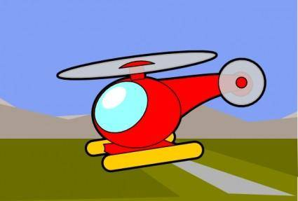 Helicopter Chopper clip art