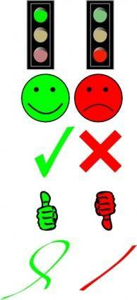 Right Or Wrong Image Collection clip art