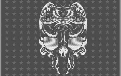 Free Vector Skull Flourish Mexican Touch