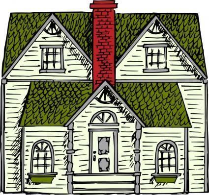 Victorian House clip art