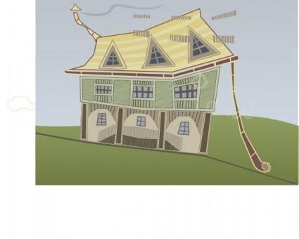 free vector Green House clip art