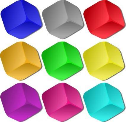 Game Marbles Cubes clip art