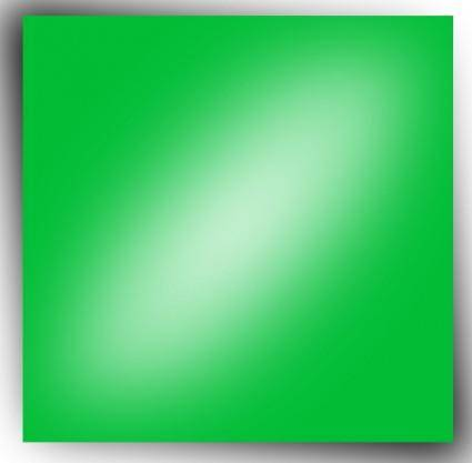 free vector Nlyl Green Rectangle clip art