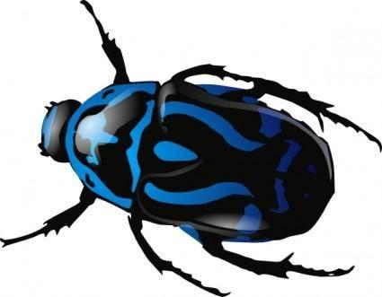 Srd Green Beetle clip art
