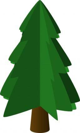 Tree Symbol 3d clip art